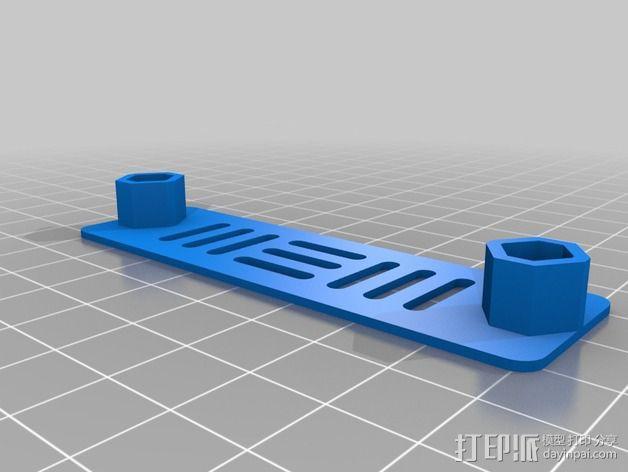 T4 四轴飞行器 Mini 315(7到8寸) 3D模型  图13