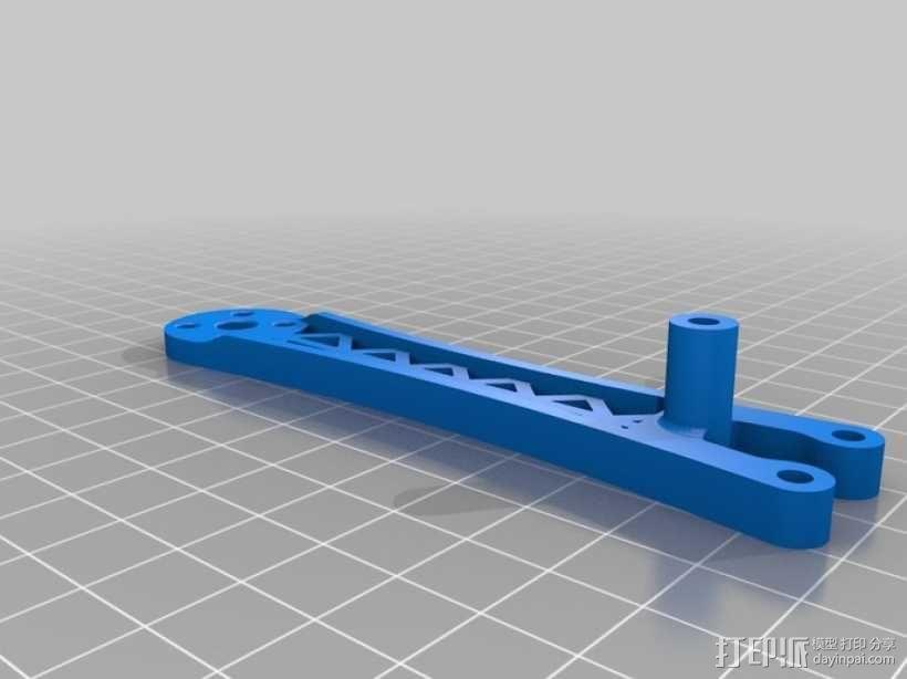 迷你四轴飞行器骨架 3D模型  图4
