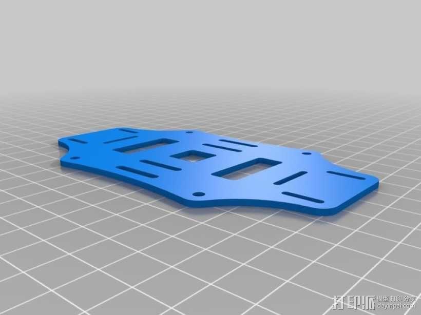 迷你四轴飞行器骨架 3D模型  图6