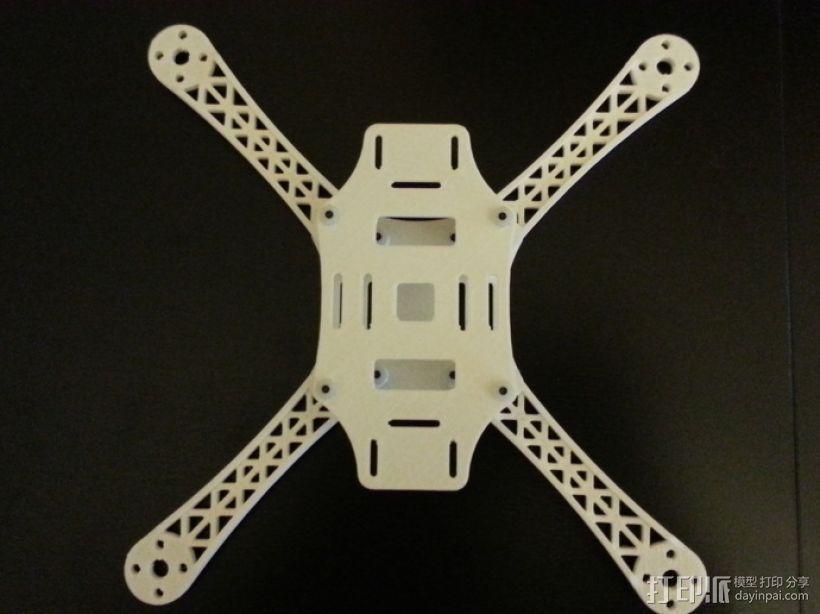 迷你四轴飞行器骨架 3D模型  图5