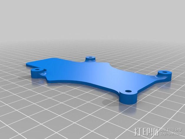 可折叠 BushBasher微型三轴迷你Rc 飞行器 v2 3D模型  图25