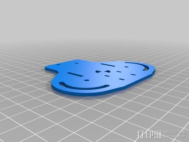 可折叠 BushBasher微型三轴迷你Rc 飞行器 v2 3D模型  图26
