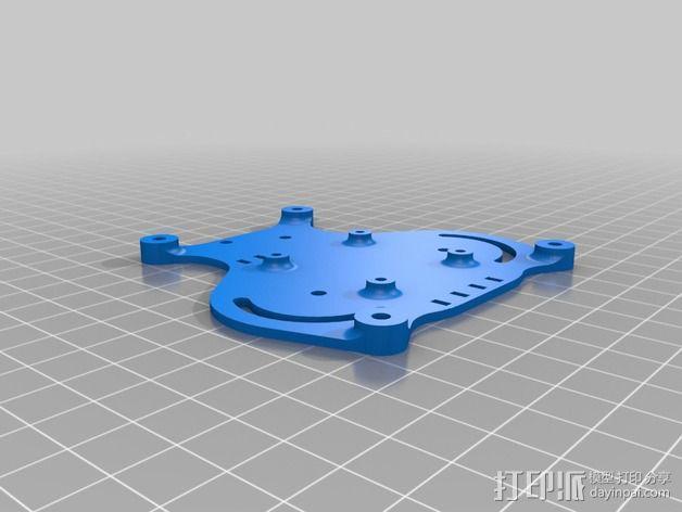 可折叠 BushBasher微型三轴迷你Rc 飞行器 v2 3D模型  图29