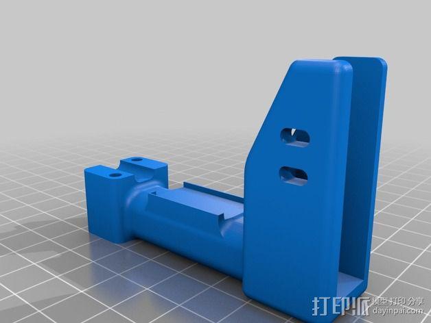 可折叠 BushBasher微型三轴迷你Rc 飞行器 v2 3D模型  图28