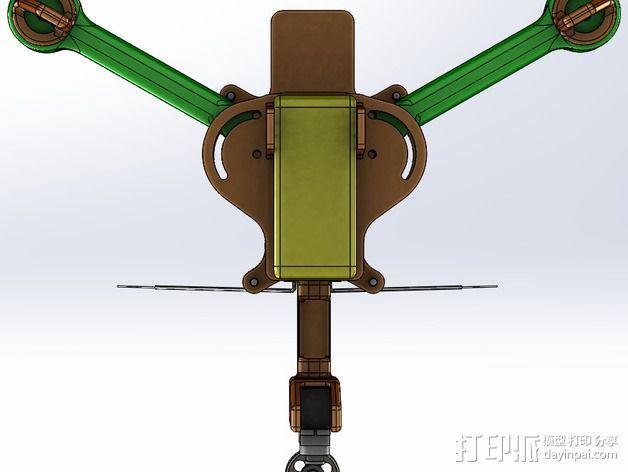可折叠 BushBasher微型三轴迷你Rc 飞行器 v2 3D模型  图33