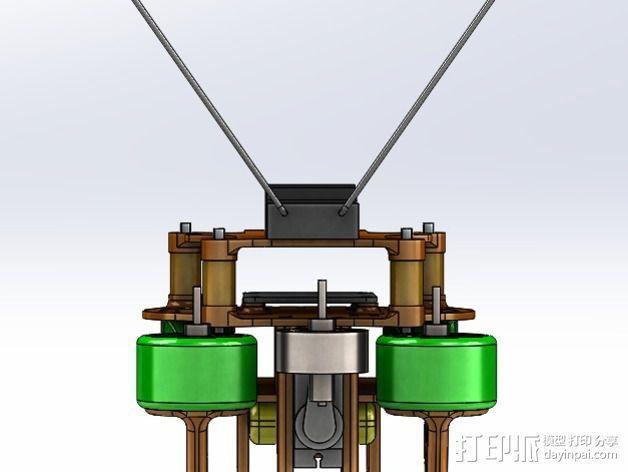 可折叠 BushBasher微型三轴迷你Rc 飞行器 v2 3D模型  图38