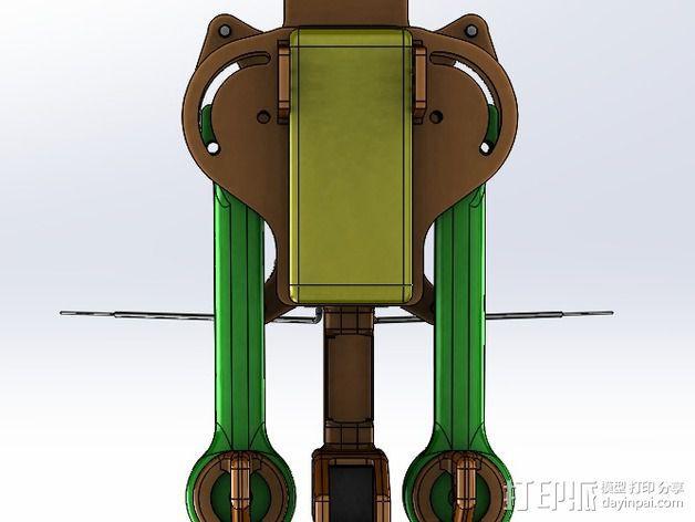 可折叠 BushBasher微型三轴迷你Rc 飞行器 v2 3D模型  图35