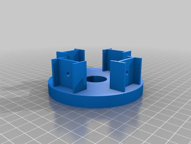 沙锤机器人 3D模型  图2