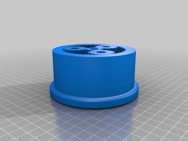 沙锤机器人 3D模型  图5
