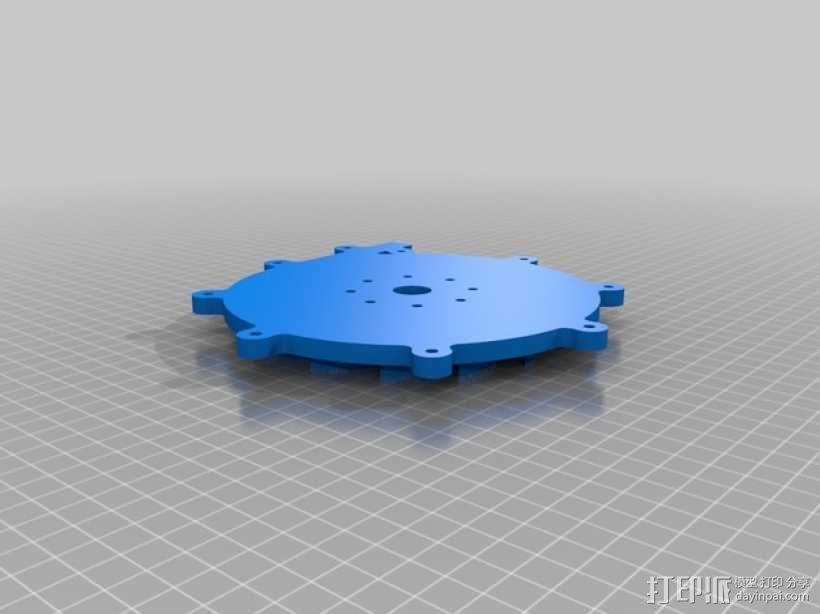 径向压缩机 3D模型  图5