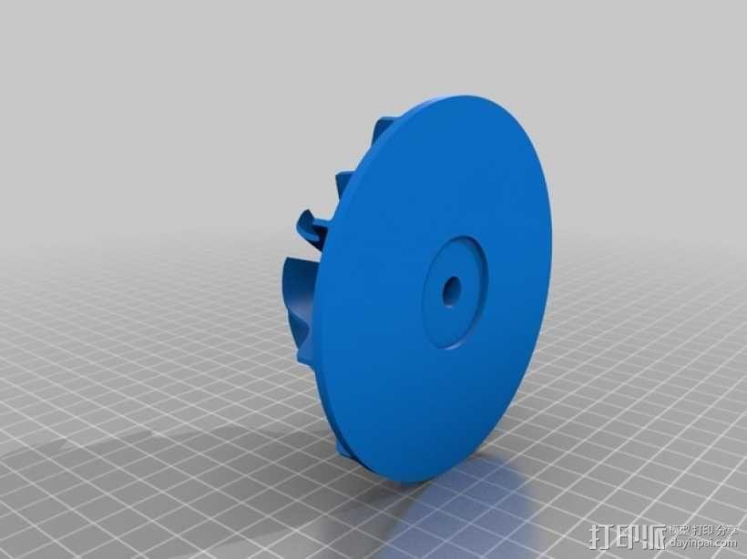 径向压缩机 3D模型  图8