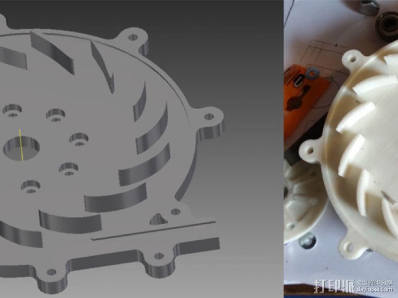 径向压缩机 3D模型  图11
