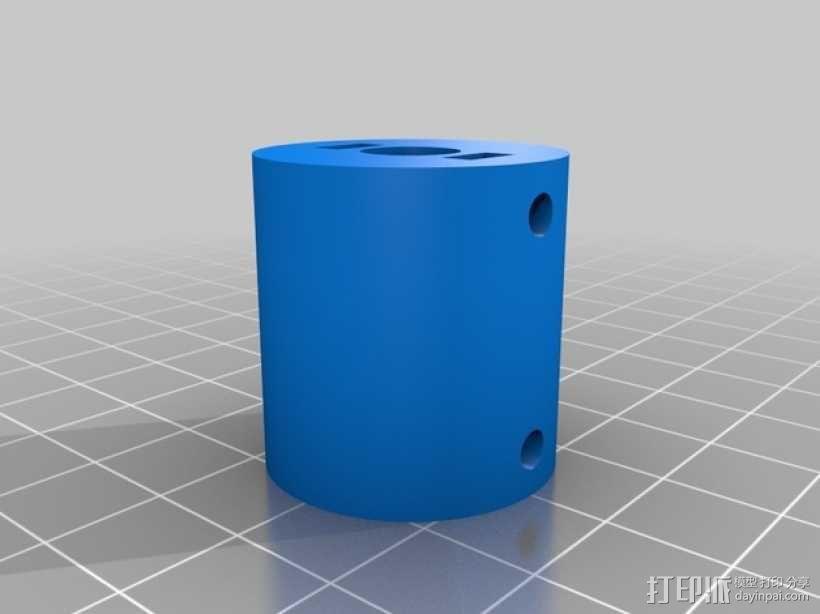 径向压缩机 3D模型  图14