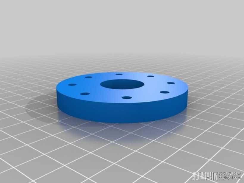 径向压缩机 3D模型  图13