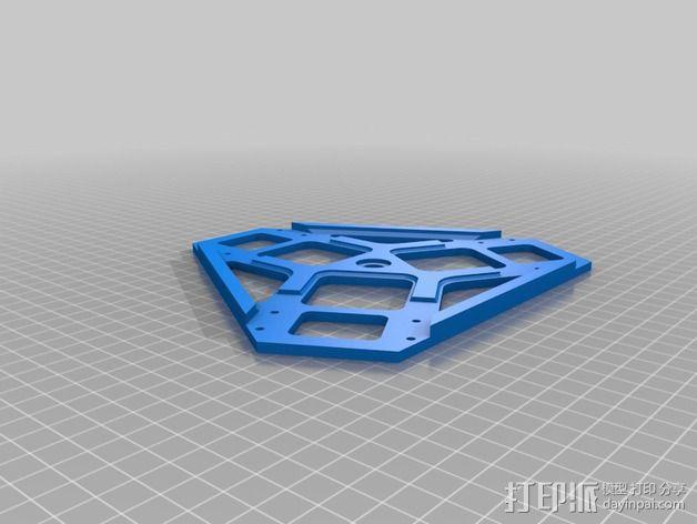 全方位滑轮机器人 3D模型  图2