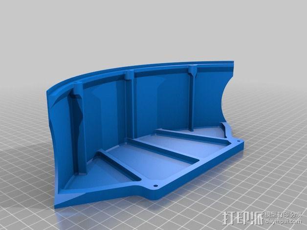 全方位滑轮机器人 3D模型  图3