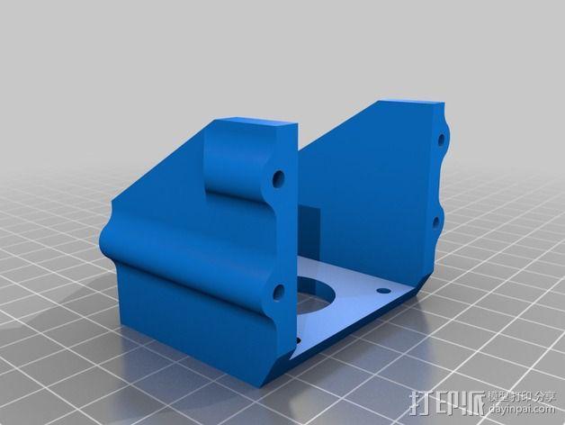 全方位滑轮机器人 3D模型  图4