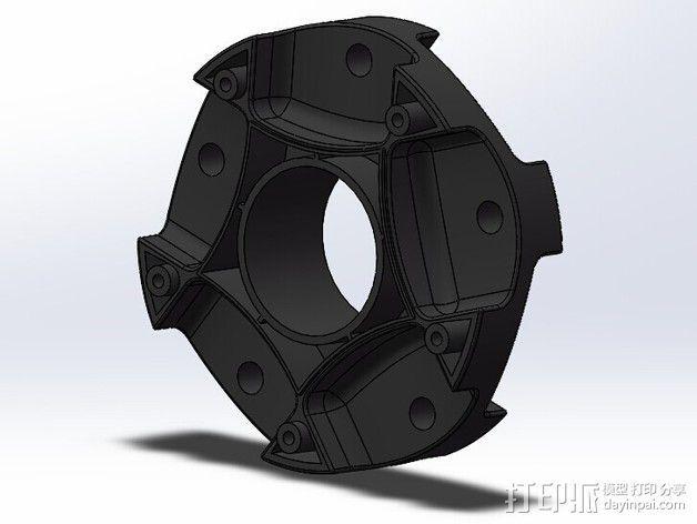 全方位滑轮机器人 3D模型  图14