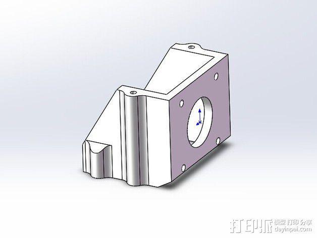 全方位滑轮机器人 3D模型  图13