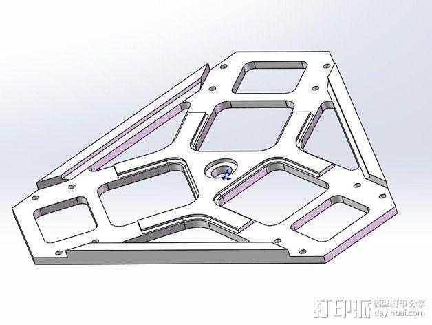 全方位滑轮机器人 3D模型  图16