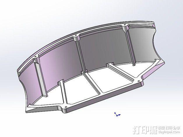 全方位滑轮机器人 3D模型  图17