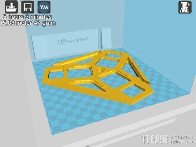 全方位滑轮机器人 3D模型  图20