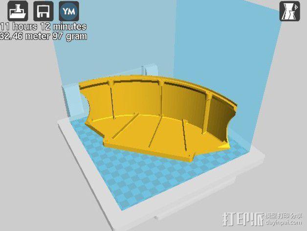 全方位滑轮机器人 3D模型  图19