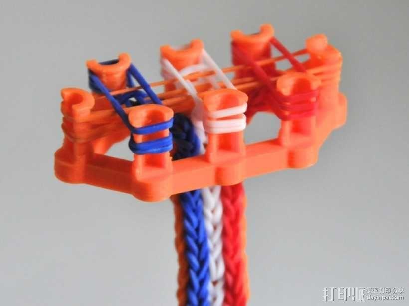 彩虹编织机 3D模型  图1