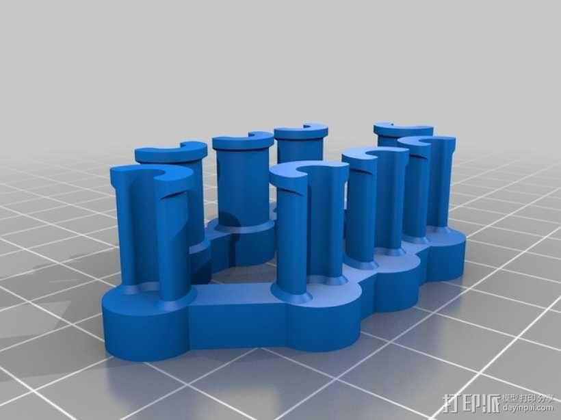 彩虹编织机 3D模型  图2