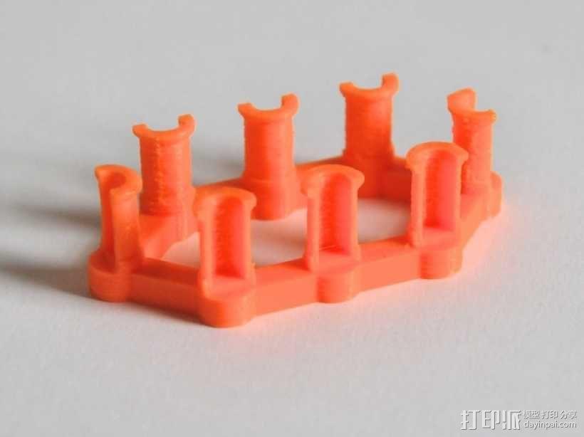 彩虹编织机 3D模型  图4