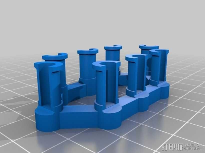 彩虹编织机 3D模型  图3
