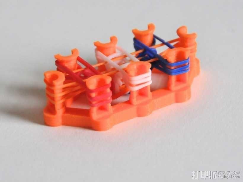 彩虹编织机 3D模型  图5