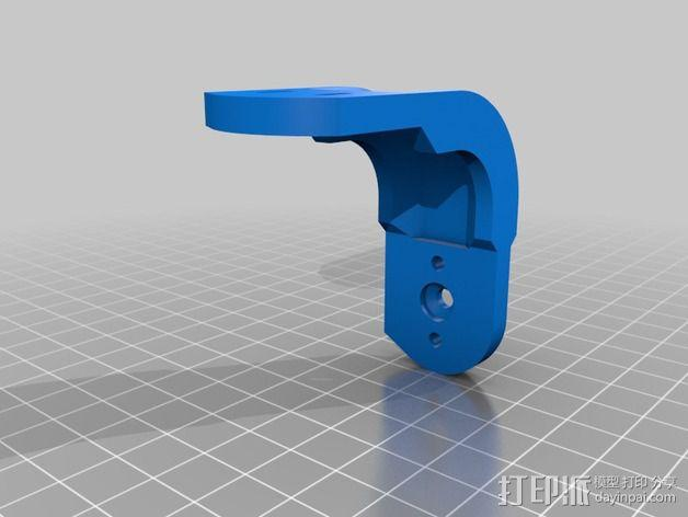 Hero的TBS 探寻无刷平衡环3代 3D模型  图8