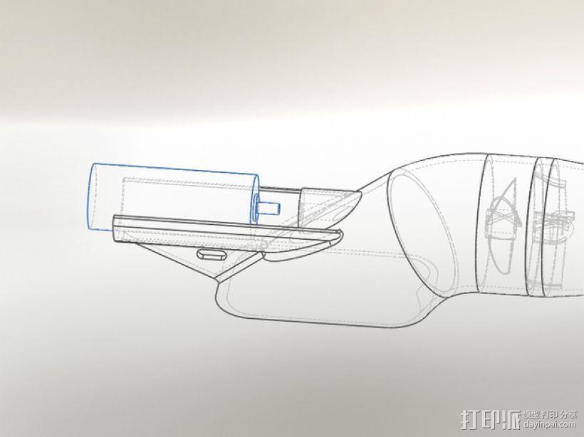 喷射艇引擎 3D模型  图4
