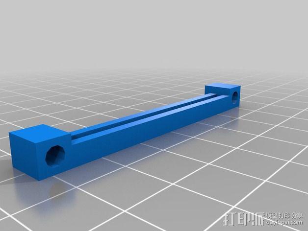 PCB 固定槽 3D模型  图2