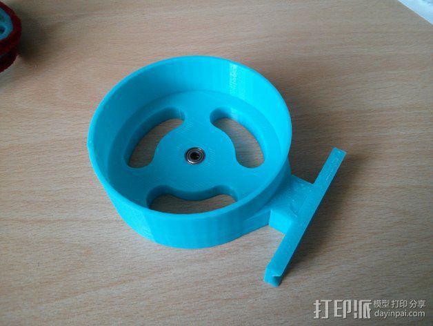 钓鱼滑轮 3D模型  图4