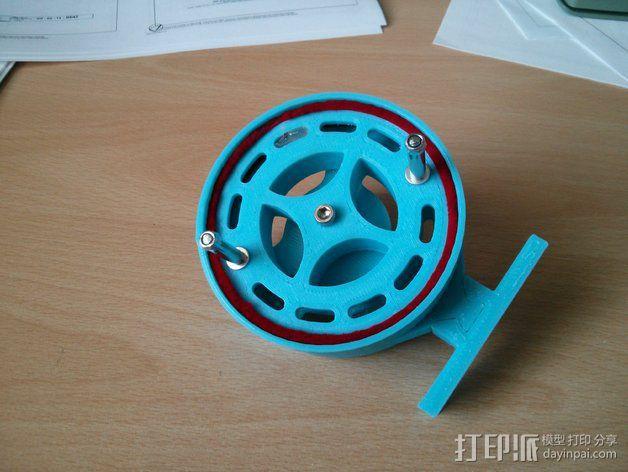 钓鱼滑轮 3D模型  图2