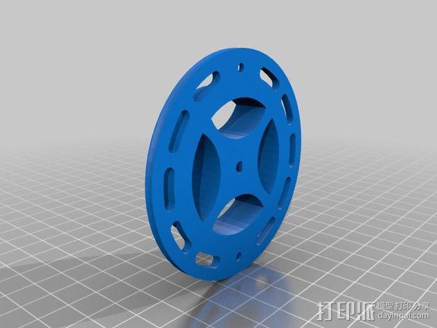 钓鱼滑轮 3D模型  图6