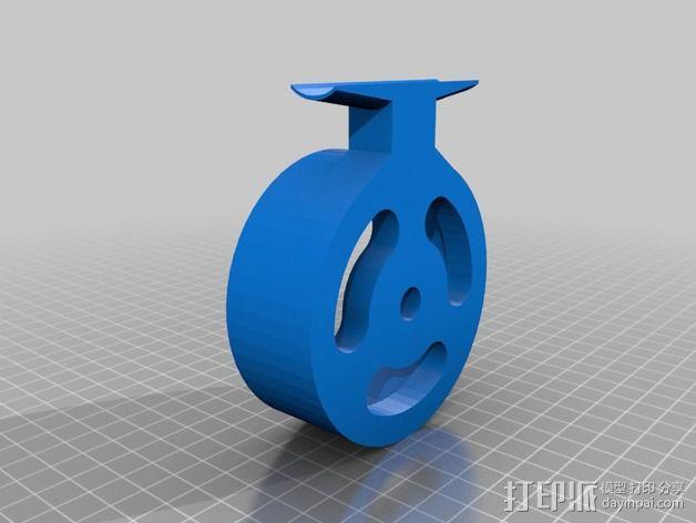 钓鱼滑轮 3D模型  图5