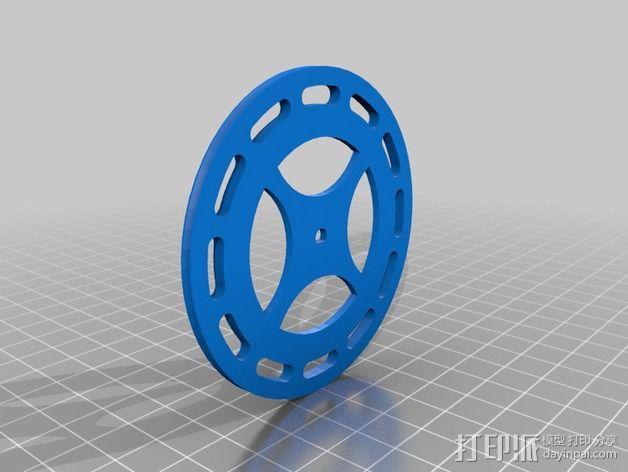 钓鱼滑轮 3D模型  图7