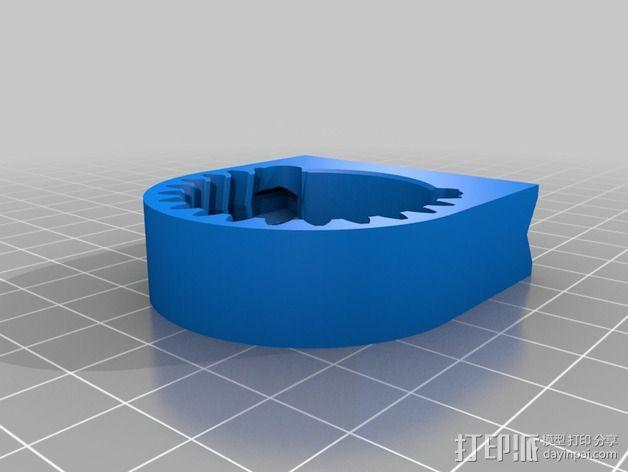 摄像头和小型DSLR的360度轮盘和倾斜头 3D模型  图14