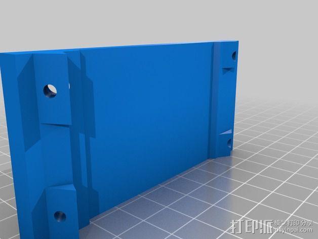 摄像头和小型DSLR的360度轮盘和倾斜头 3D模型  图17