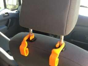 汽车椅背垃圾袋固定钩 3D模型