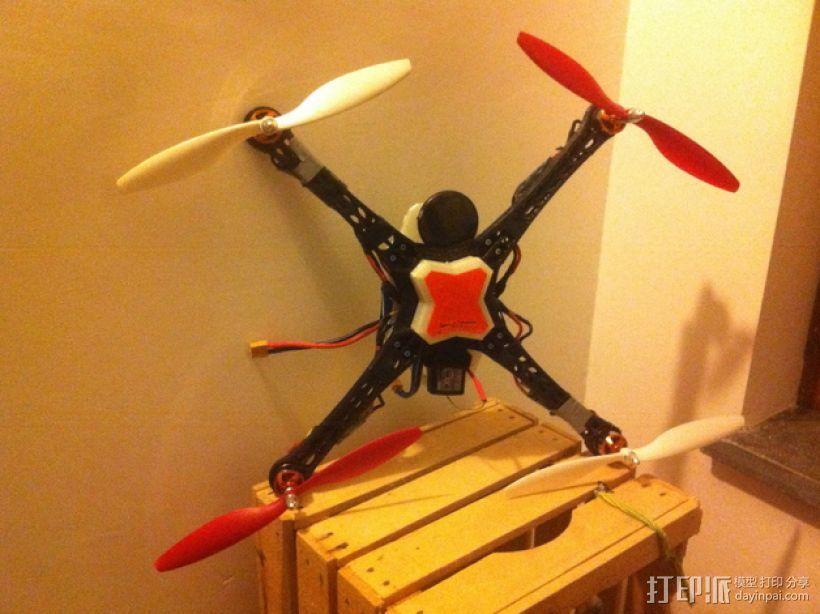 Mosquito V1 四轴飞行器 450机身 3D模型  图2