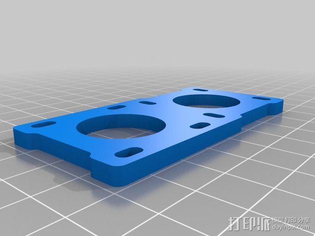 通用摄像头平衡夹套 3D模型  图3