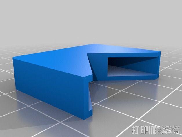通用摄像头平衡夹套 3D模型  图4