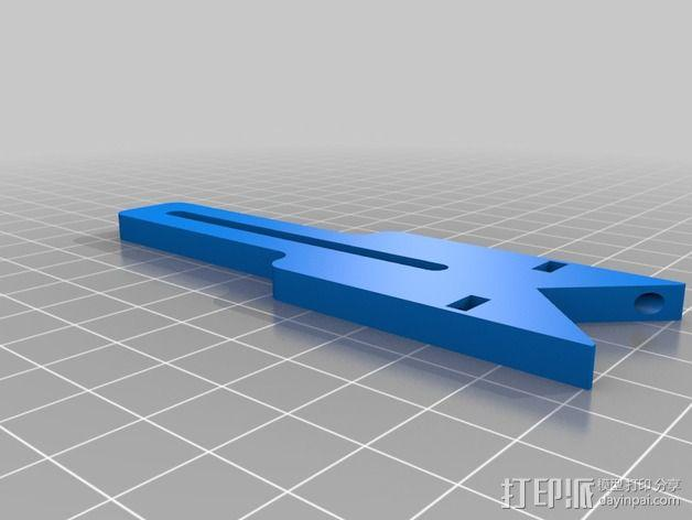 通用摄像头平衡夹套 3D模型  图5