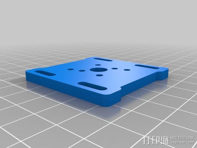 通用摄像头平衡夹套 3D模型  图6