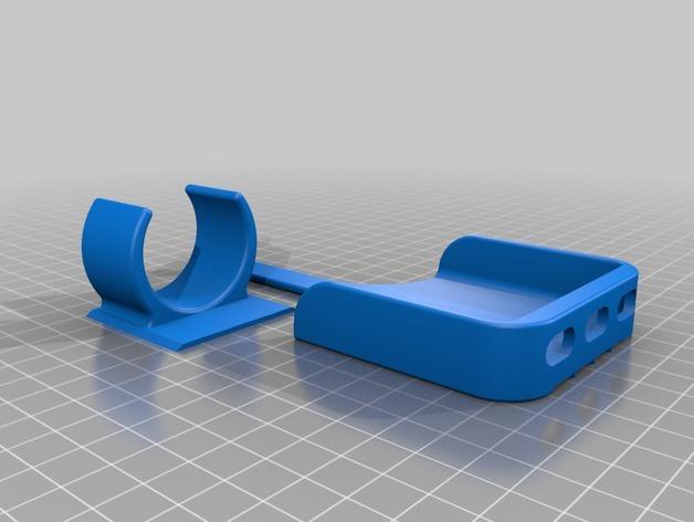 Iphone 5 自行车固定夹 3D模型  图2
