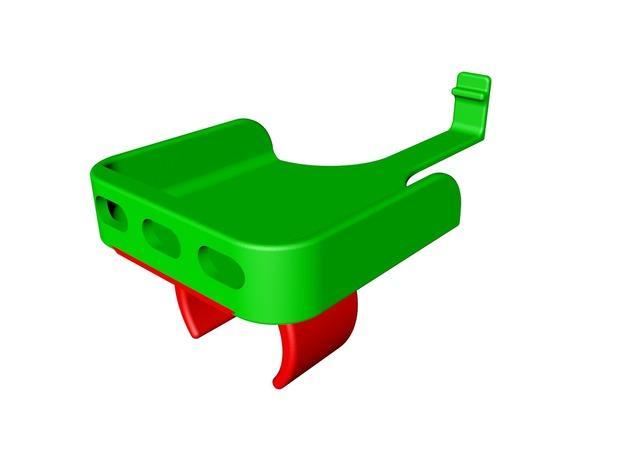 Iphone 5 自行车固定夹 3D模型  图6